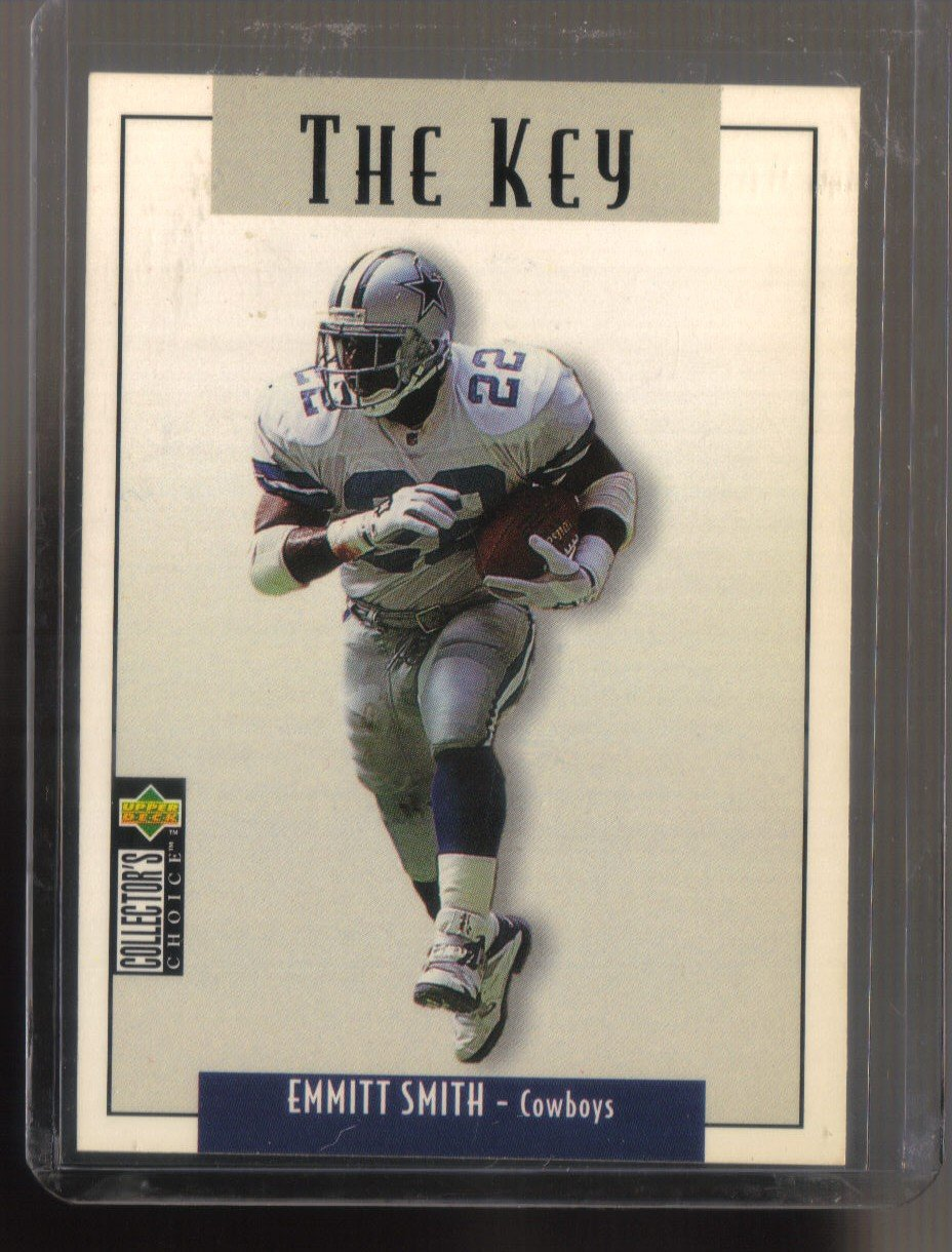 1995 UD Collector's Choice Update  #61  EMMITT SMITH    Cowboys