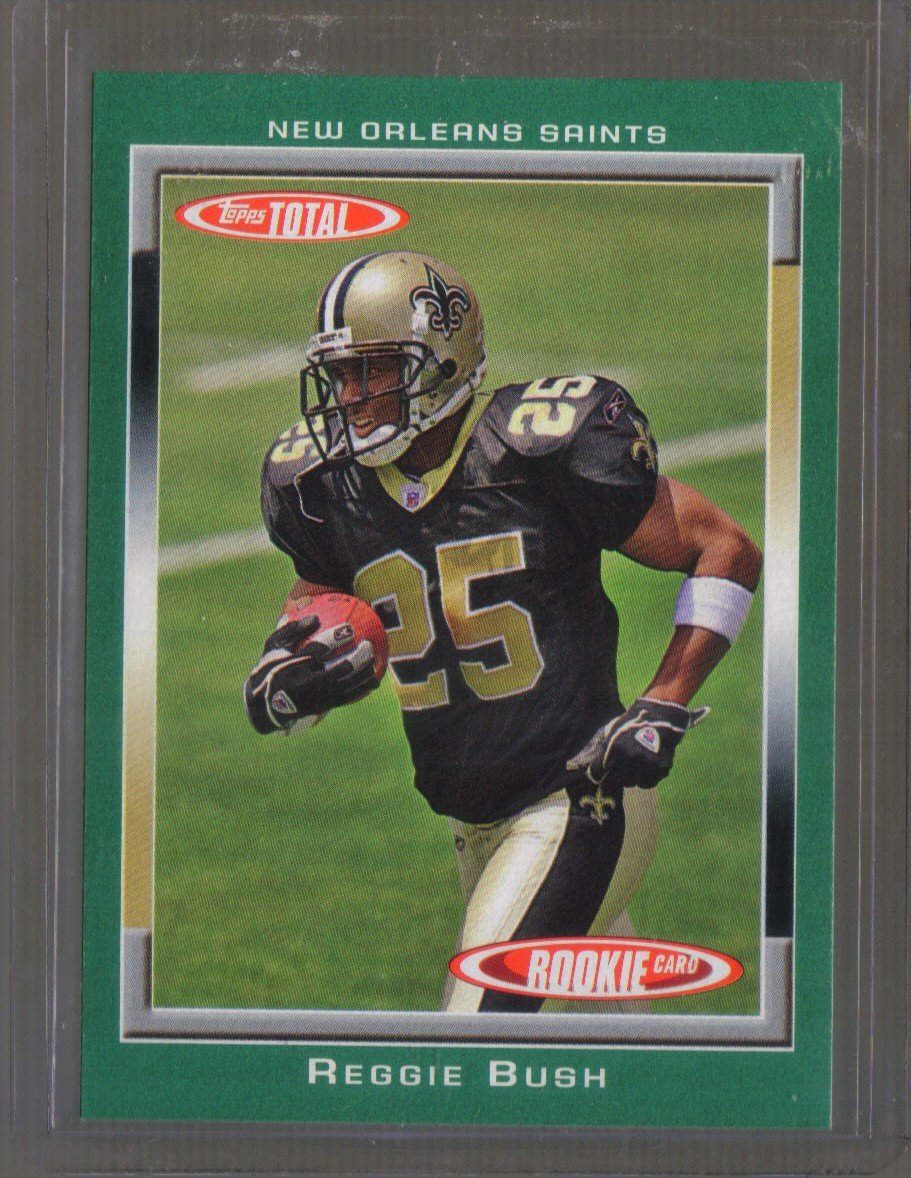 2007 Topps Total Team Checklists  #20  REGGIE BUSH   Saints