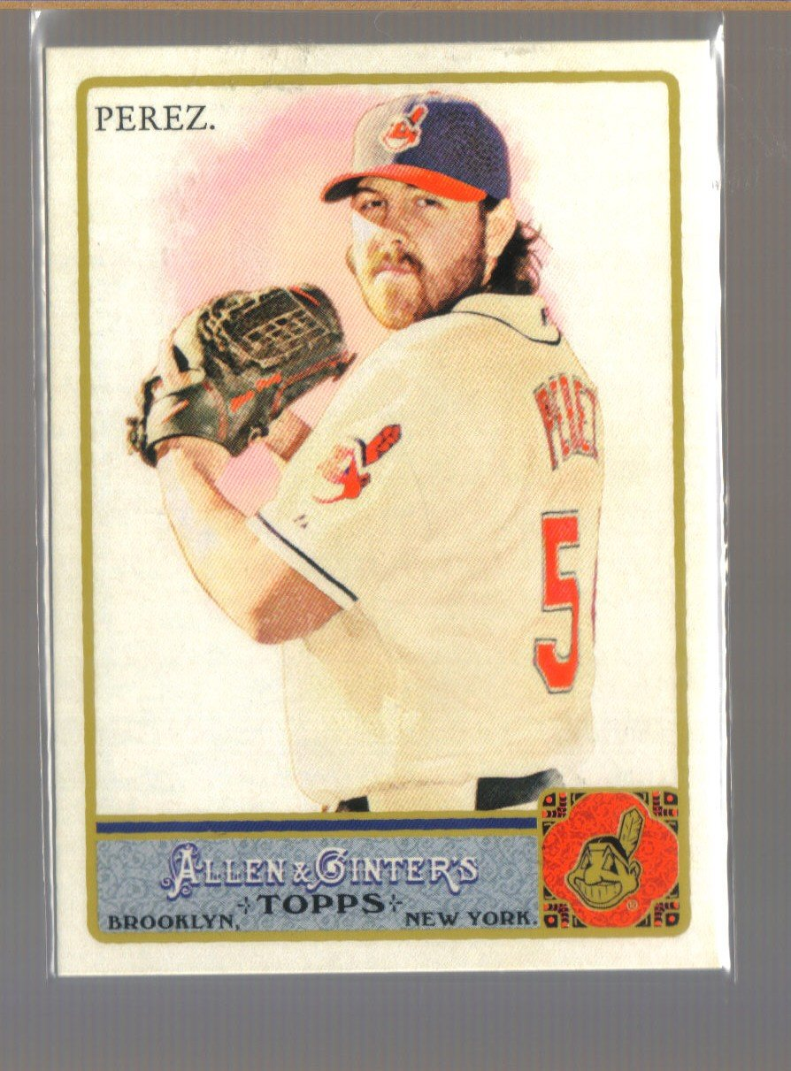 2011 Topps Allen & Ginter  #71  CHRIS PEREZ    Indians