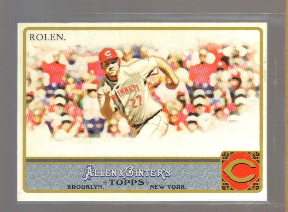 2011 Topps Allen & Ginter  #82  SCOTT ROLEN    Reds