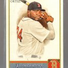 2011 Topps Allen & Ginter  #88  DAVID ORTIZ    Red Sox