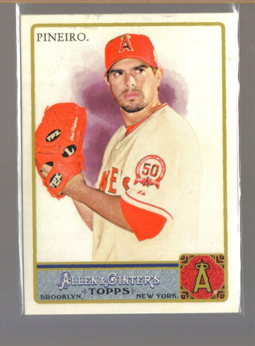 2011 Topps Allen & Ginter  #91  JOEL PINEIRO    Angels