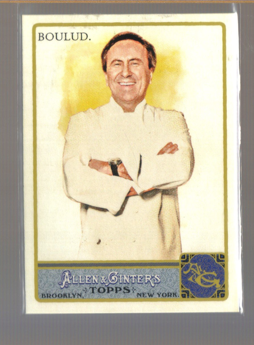 2011 Topps Allen & Ginter  #96  DANIEL BOULUD   French Chef