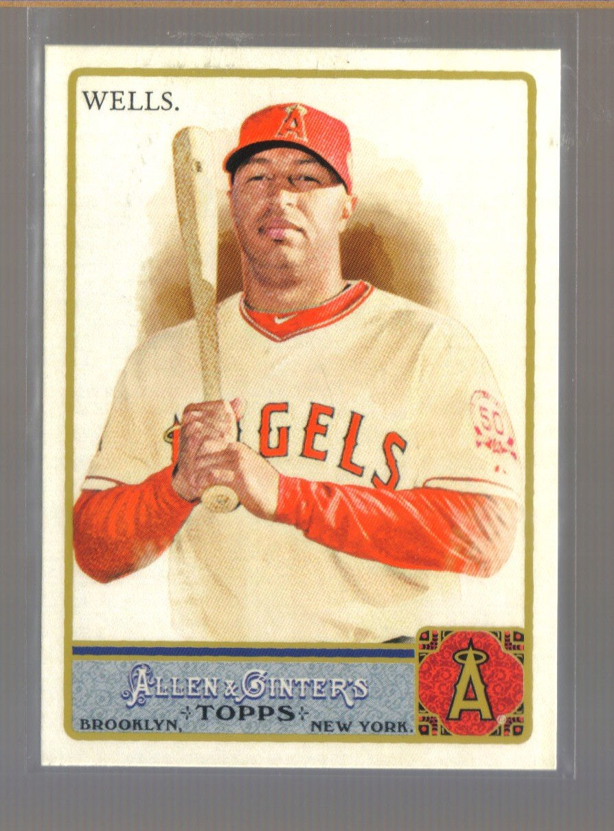 2011 Topps Allen & Ginter  #141  VERNON WELLS    Angels