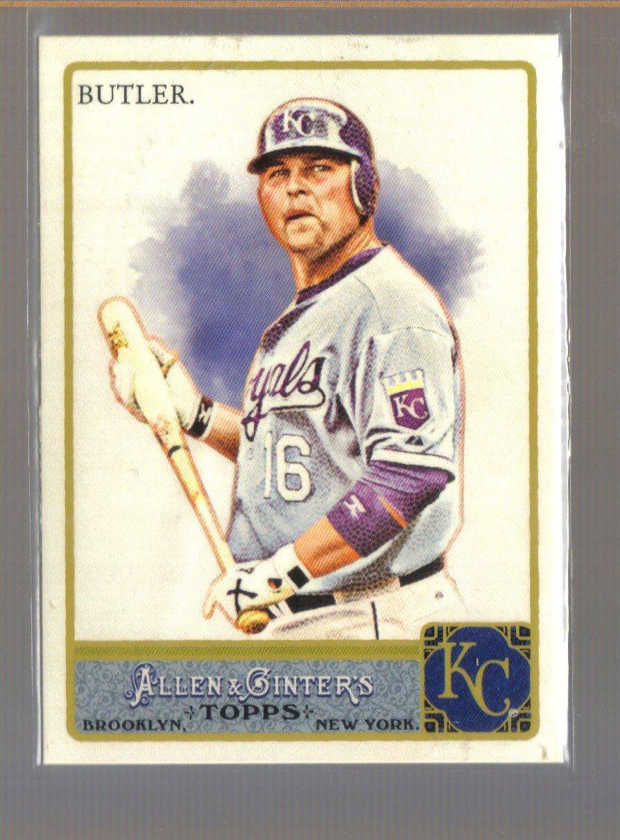 2011 Topps Allen & Ginter  #158  BILLY BUTLER    Royals