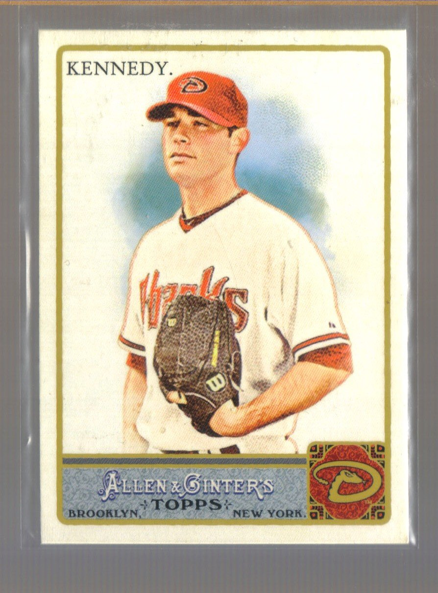 2011 Topps Allen & Ginter  #163  IAN KENNEDY    Diamondbacks