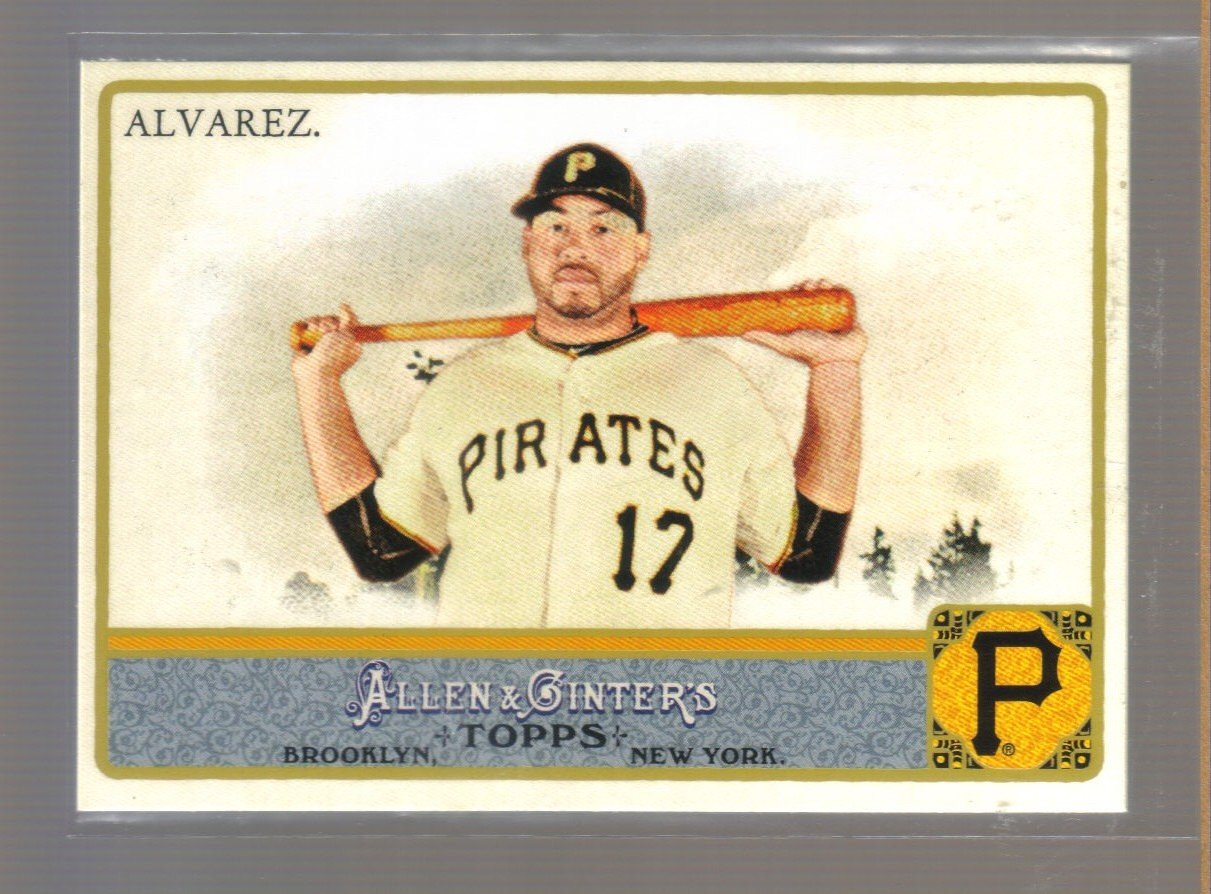 2011 Topps Allen & Ginter  #184  PEDRO ALVAREZ    Pirates