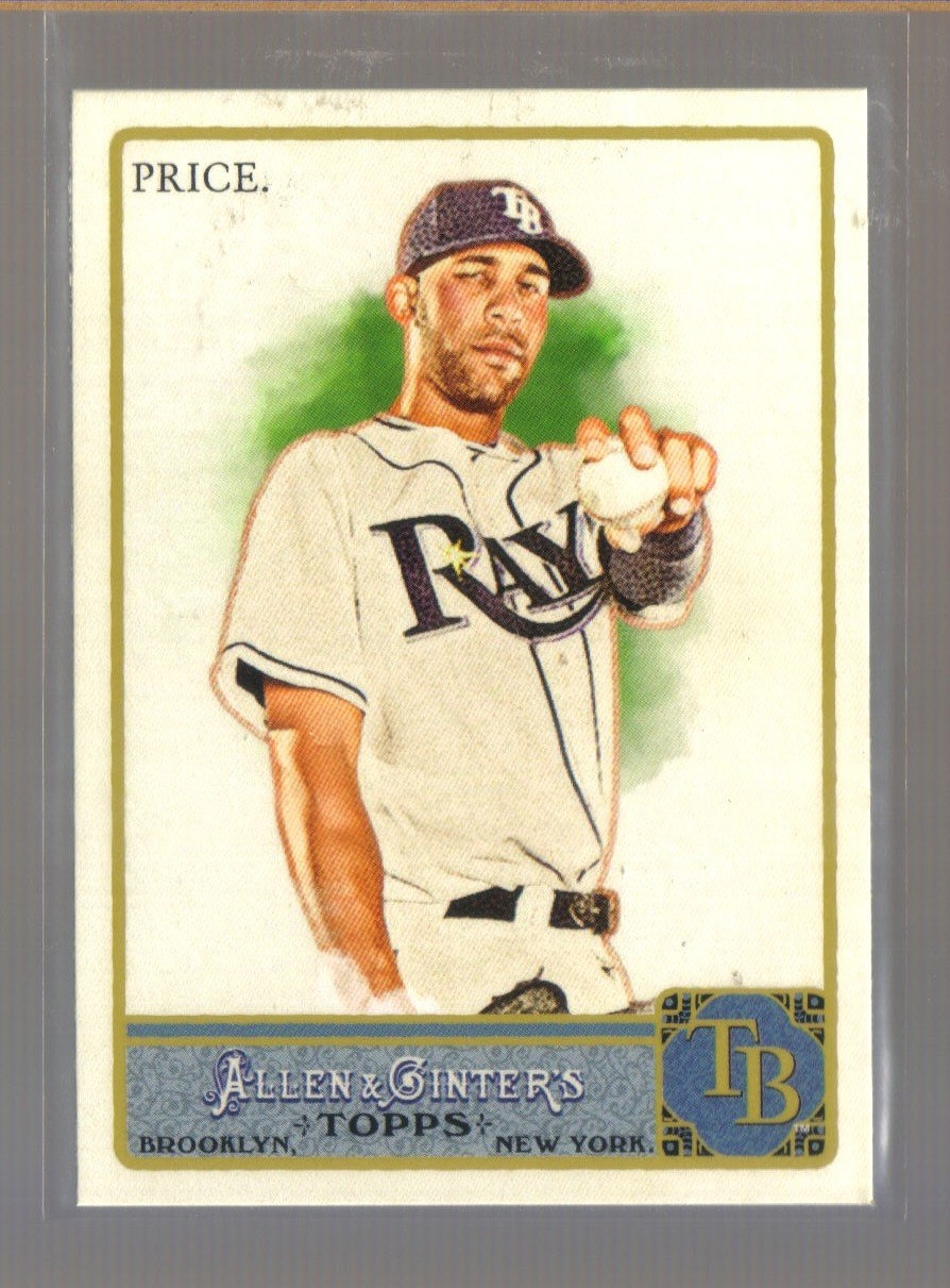 2011 Topps Allen & Ginter  #255  DAVID PRICE    Rays