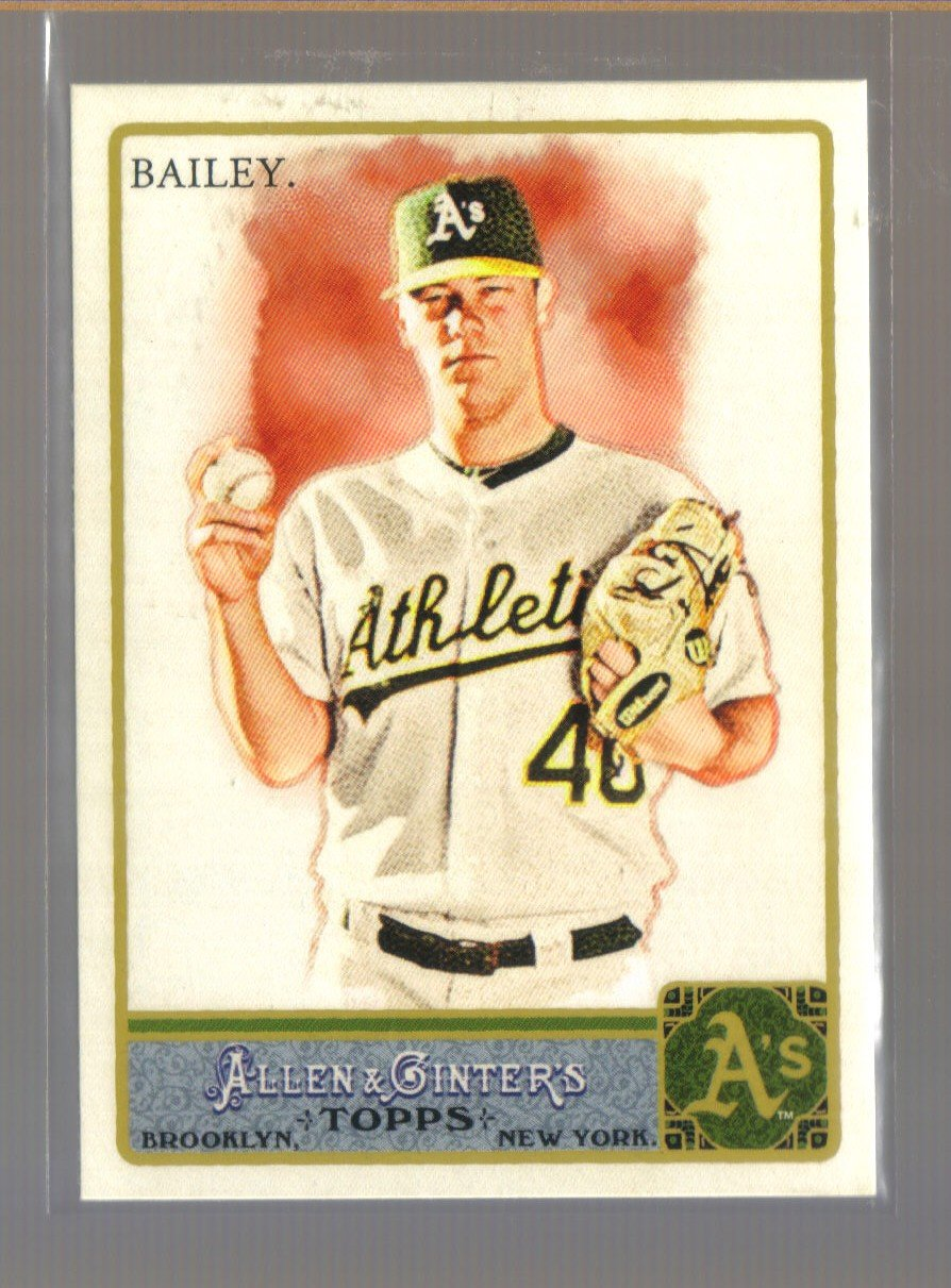2011 Topps Allen & Ginter  #257  ANDREW BAILEY    A's