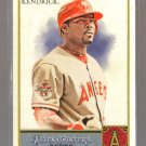 2011 Topps Allen & Ginter  #258  HOWIE KENDRICK    Angels