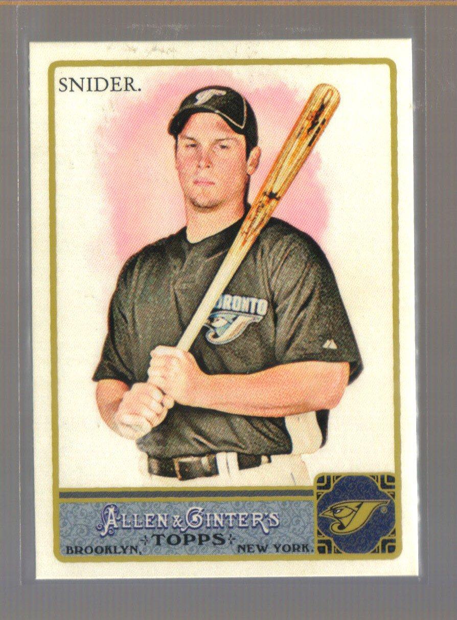 2011 Topps Allen & Ginter  #278  TRAVIS SNIDER   Blue Jays