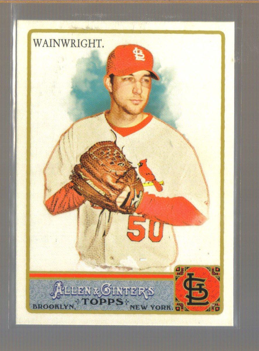 2011 Topps Allen & Ginter  #280  ADAM WAINWRIGHT   Cardinals
