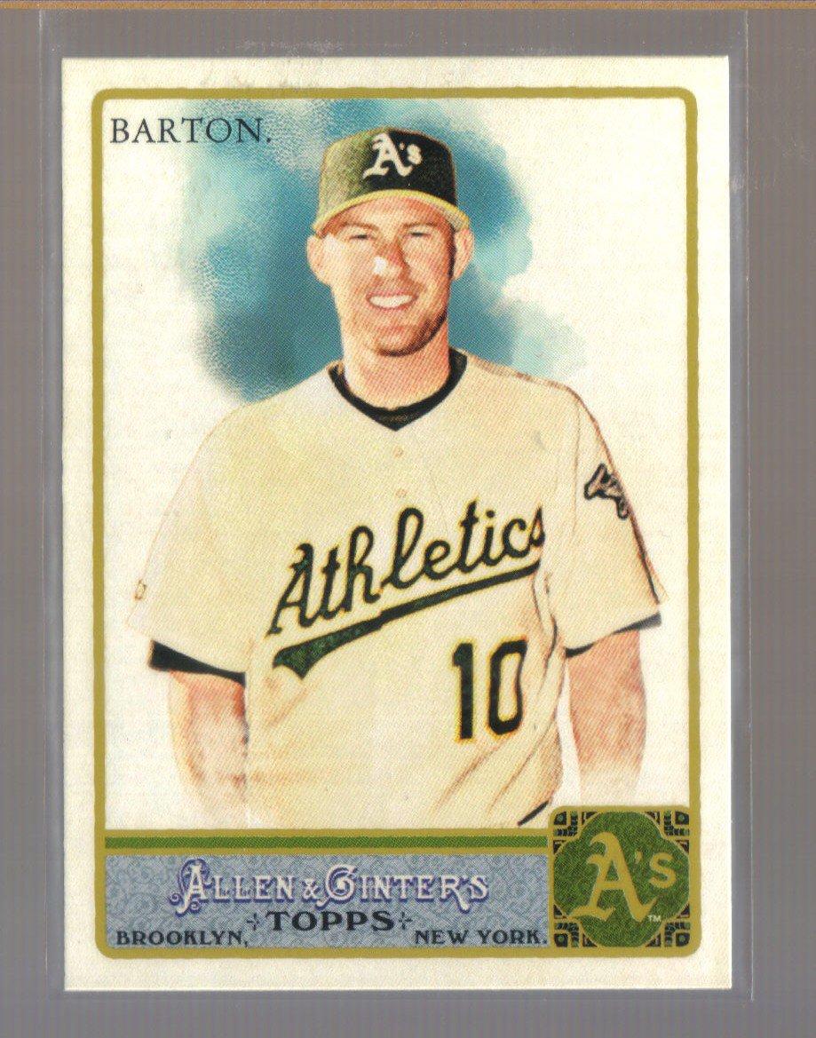 2011 Topps Allen & Ginter  #283  DARIC BARTON   A's