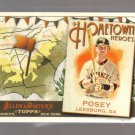 2011 Topps Allen & Ginter Hometown Heroes  #1  BUSTER POSEY   Giants