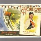 2011 Topps Allen & Ginter Hometown Heroes  #7  C.C. SABATHIA   Yankees