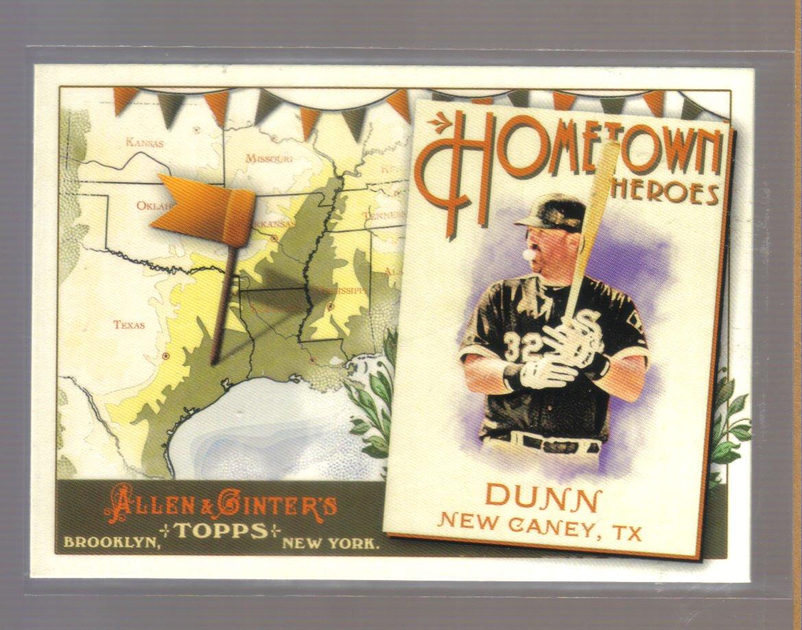 2011 Topps Allen & Ginter Hometown Heroes  #25  ADAM DUNN   White Sox