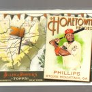 2011 Topps Allen & Ginter Hometown Heroes  #27  BRANDON PHILLIPS   Reds