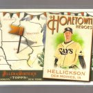 2011 Topps Allen & Ginter Hometown Heroes  #87  JEREMY HELLICKSON   Rays