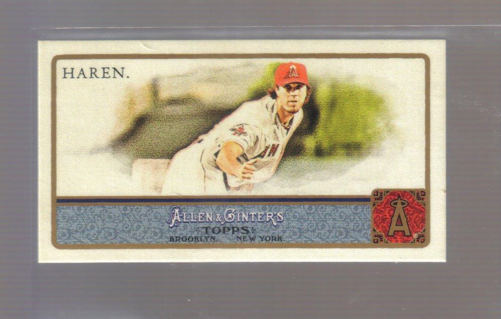 2011 Topps Allen & Ginter Mini  #169  DAN HAREN   Angels