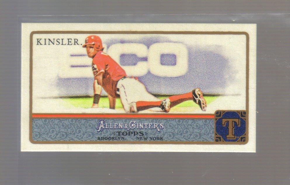 2011 Topps Allen & Ginter Mini  #246  IAN KINSLER   Rangers
