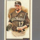 2011 Topps Allen & Ginter Mini A&G Back  #154  TODD HELTON   Rockies
