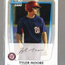 2011 Bowman Prospects  #5  TYLER MOORE   Nationals