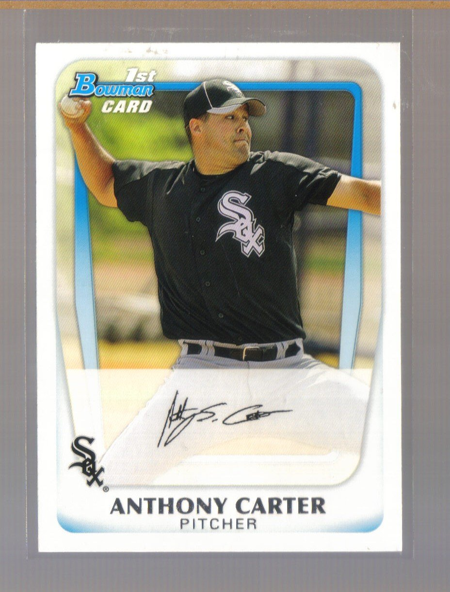 2011 Bowman Prospects  #6  ANTHONY CARTER   White Sox
