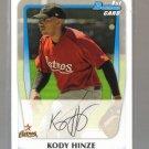 2011 Bowman Prospects  #16  KODY HINZE    Astros