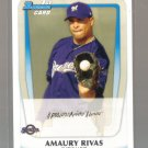 2011 Bowman Prospects  #27  AMAURY RIVAS   Brewers