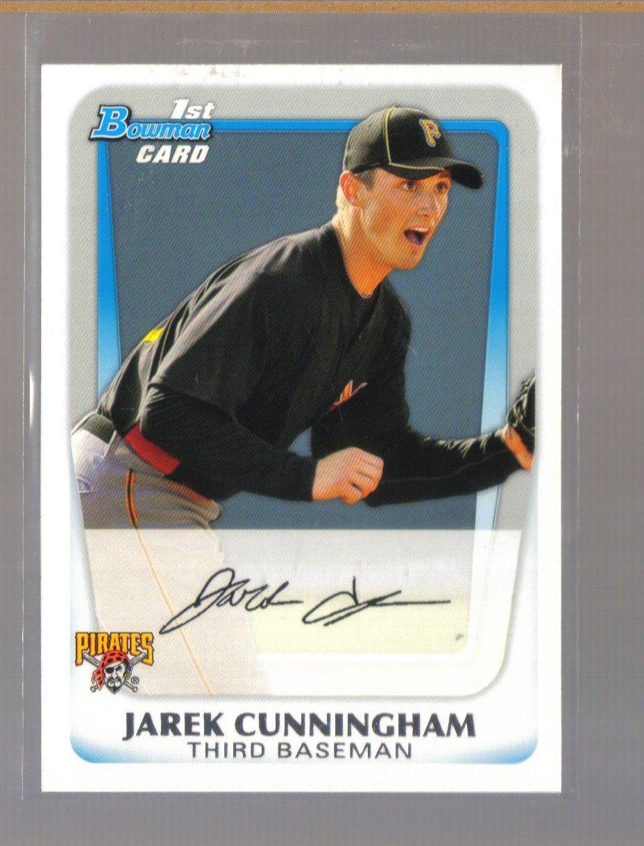 2011 Bowman Prospects  #60  JAREK CUNNINGHAM   Pirates