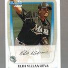 2011 Bowman Prospects  #69  ELIH VILLANUEVA   Marlins
