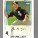 2011 Bowman Prospects  #74  JIM GALLAGHER   White Sox