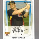 2011 Bowman Prospects  #84  MATT HAGUE   Pirates