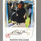 2011 Bowman Prospects  #85  MASON WILLIAMS   Yankees