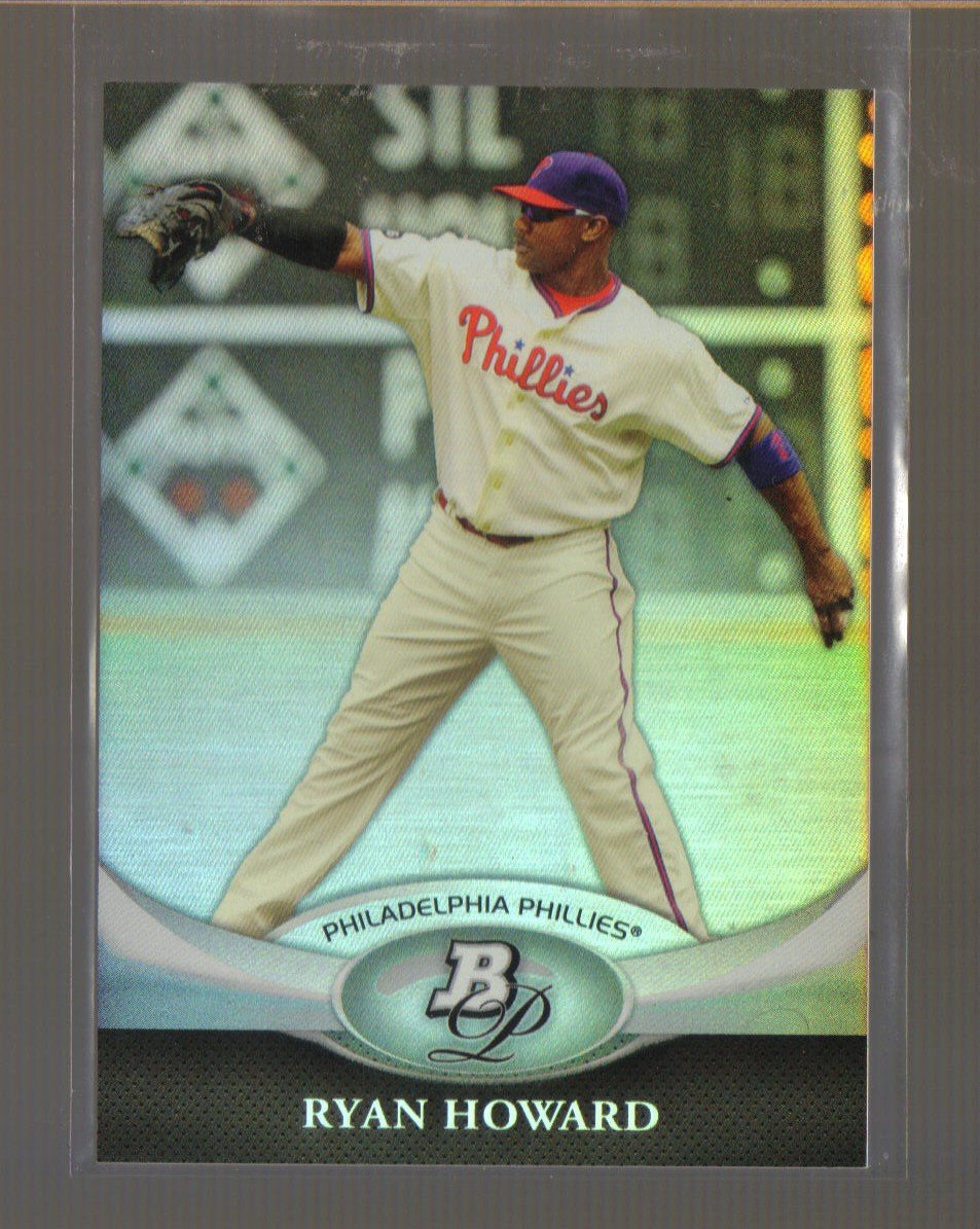 2011 Bowman Platinum  #1  RYAN HOWARD    Phillies
