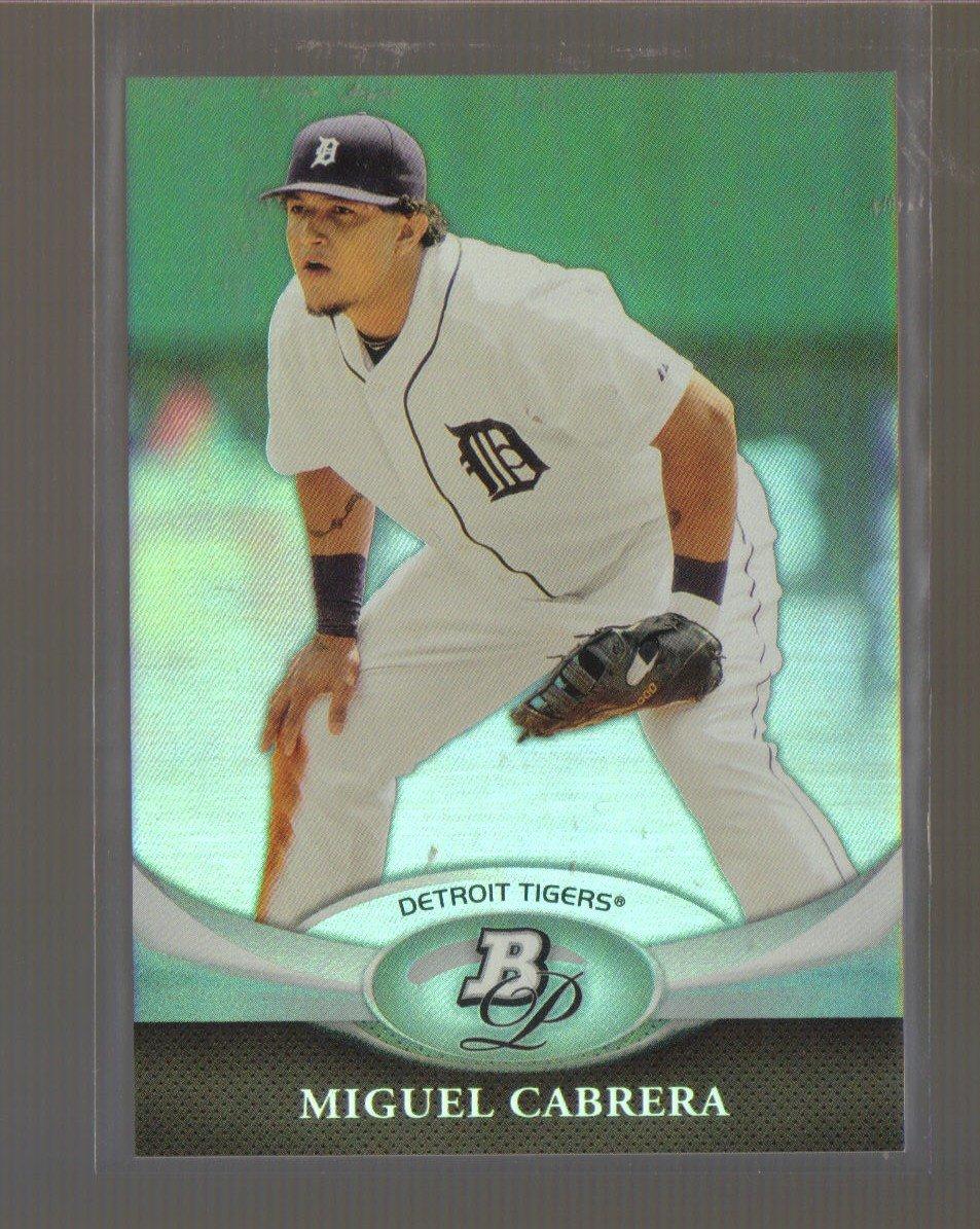 2011 Bowman Platinum  #6  MIGUEL CABRERA   Tigers