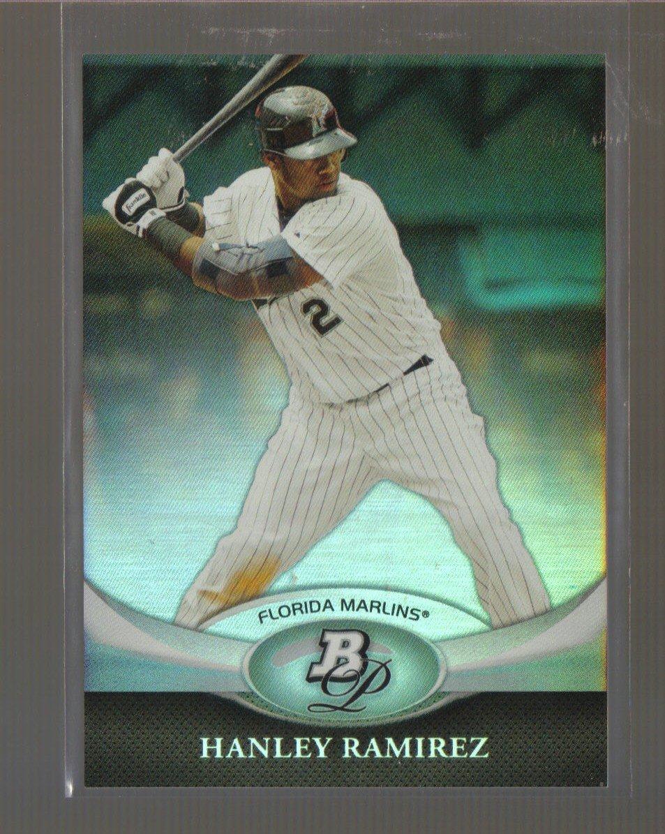 2011 Bowman Platinum  #8  HANLEY RAMIREZ   Marlins