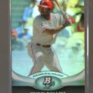 2011 Bowman Platinum  #12  JIMMY ROLLINS   Phillies