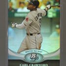 2011 Bowman Platinum  #16  CARL CRAWFORD   Red Sox