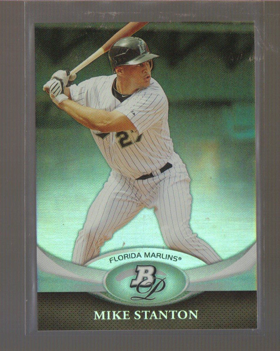 2011 Bowman Platinum  #23  MIKE STANTON   Marlins