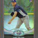 2011 Bowman Platinum  #27  JAKE McGEE   RC   Rays