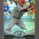 2011 Bowman Platinum  #43  JOEY VOTTO    Reds