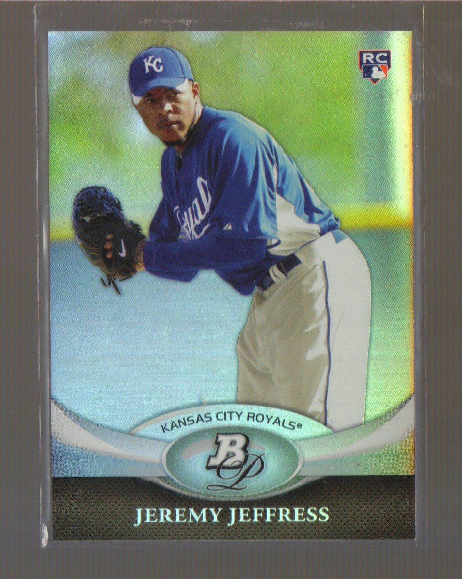 2011 Bowman Platinum  #44  JEREMY JEFFRESS   RC   Royals
