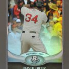 2011 Bowman Platinum  #53  DAVID ORTIZ   Red Sox