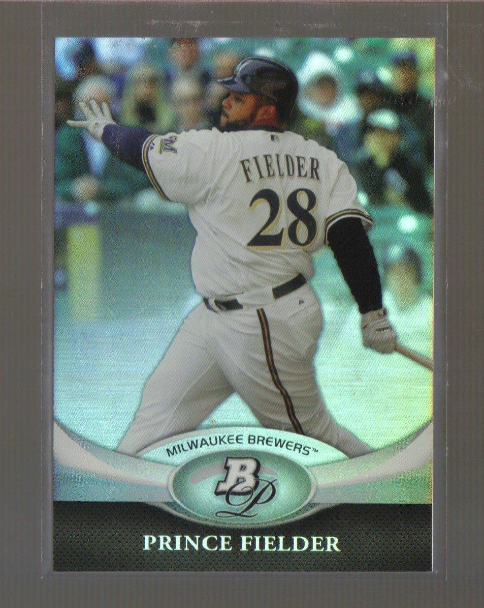 2011 Bowman Platinum  #63  PRINCE FIELDER    Brewers