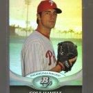 2011 Bowman Platinum  #83  COLE HAMELS    Phillies