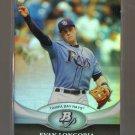 2011 Bowman Platinum  #97  EVAN LONGORIA   Rays