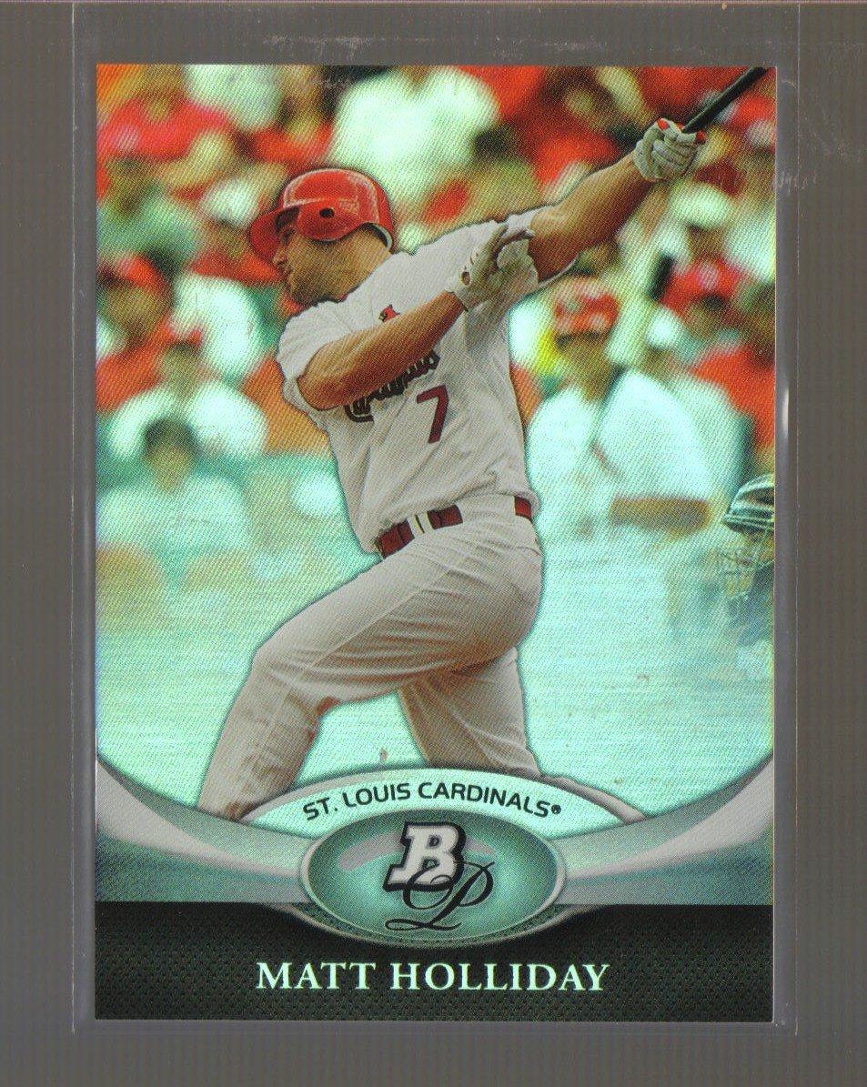 2011 Bowman Platinum  #98  MATT HOLLIDAY   Cardinals