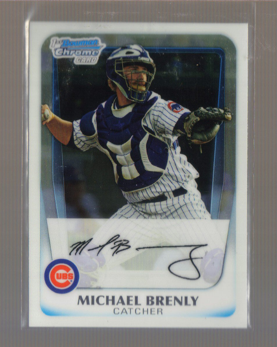 2011 Bowman Prospects Chrome  #15  MICHAEL BRENLY   Cubs