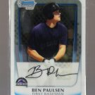 2011 Bowman Prospects Chrome  #34  BEN PAULSEN   Rockies